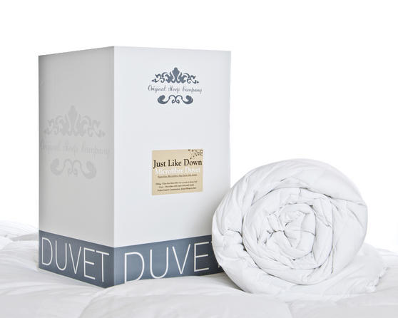 Just Like Down Peached Microfibre Duvet - 10.5 Tog
