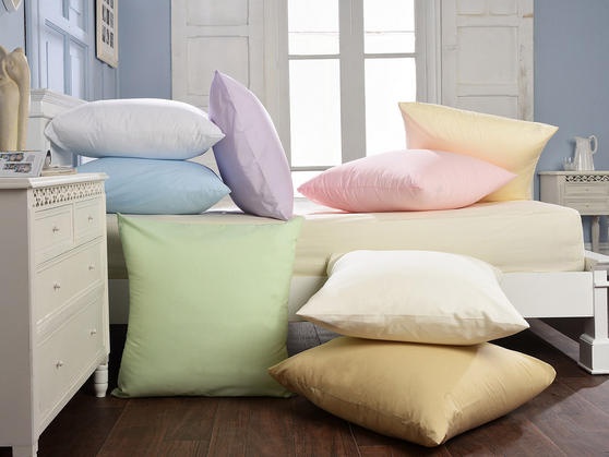 80 x 80 - Plain Dye Blended Cotton Continental Housewife Pillowcases