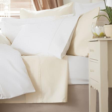 Egyptian Cotton 400 TC Flat Sheets Thumbnail 1