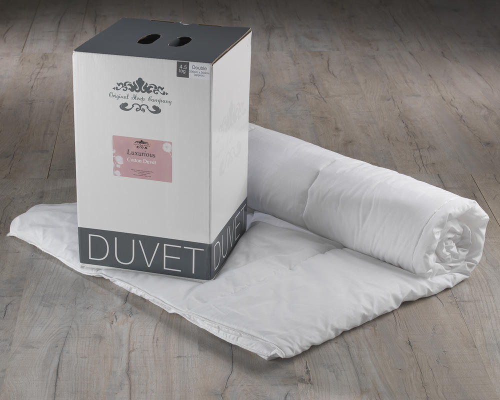 Luxurious Cotton Duvet - 4.5 Tog