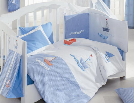 Nursery Baby Bed Bedding Collection - Locomative Train