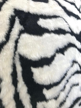 Faux Fur Tiger 65cm Cushion Cover Thumbnail 2