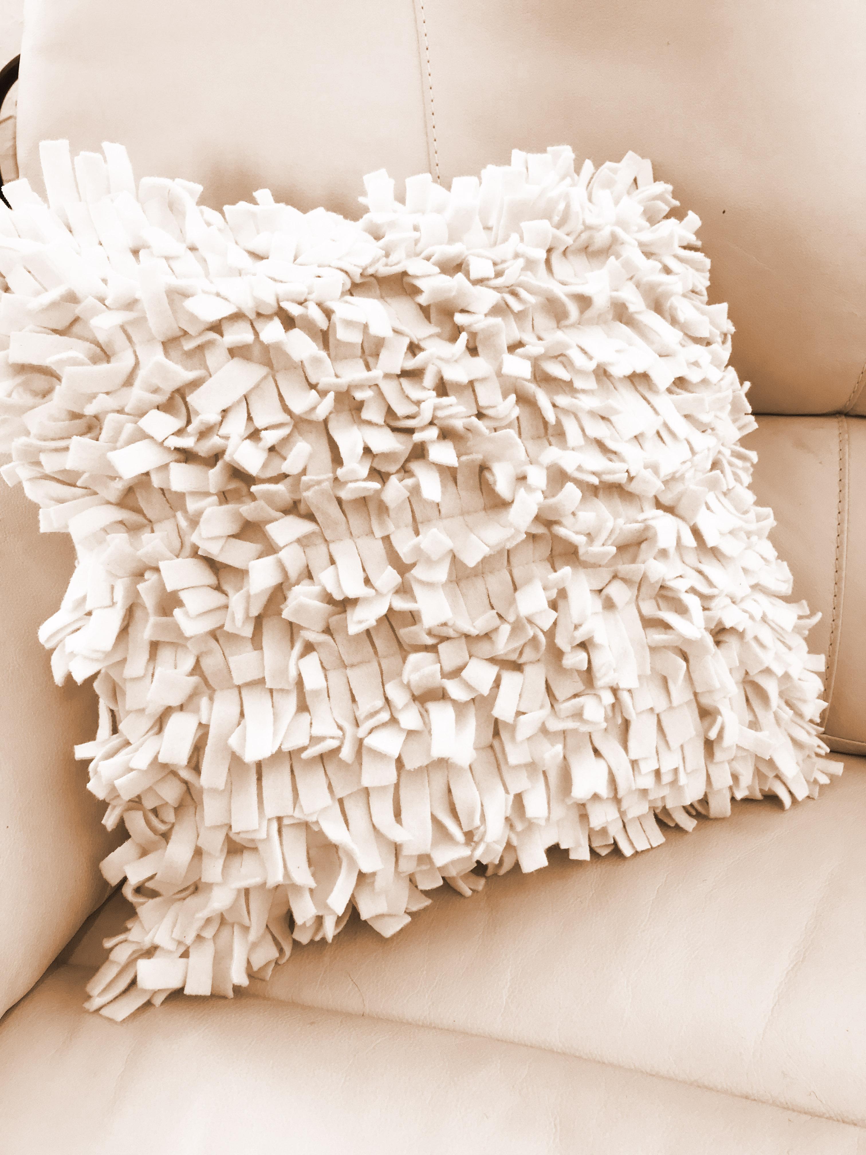 Cream Clipper Cushion Cover
