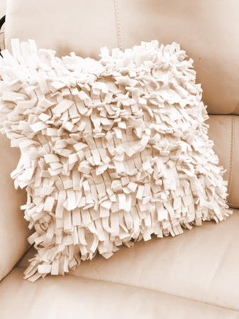 Cream Clipper Cushion Cover Thumbnail 1