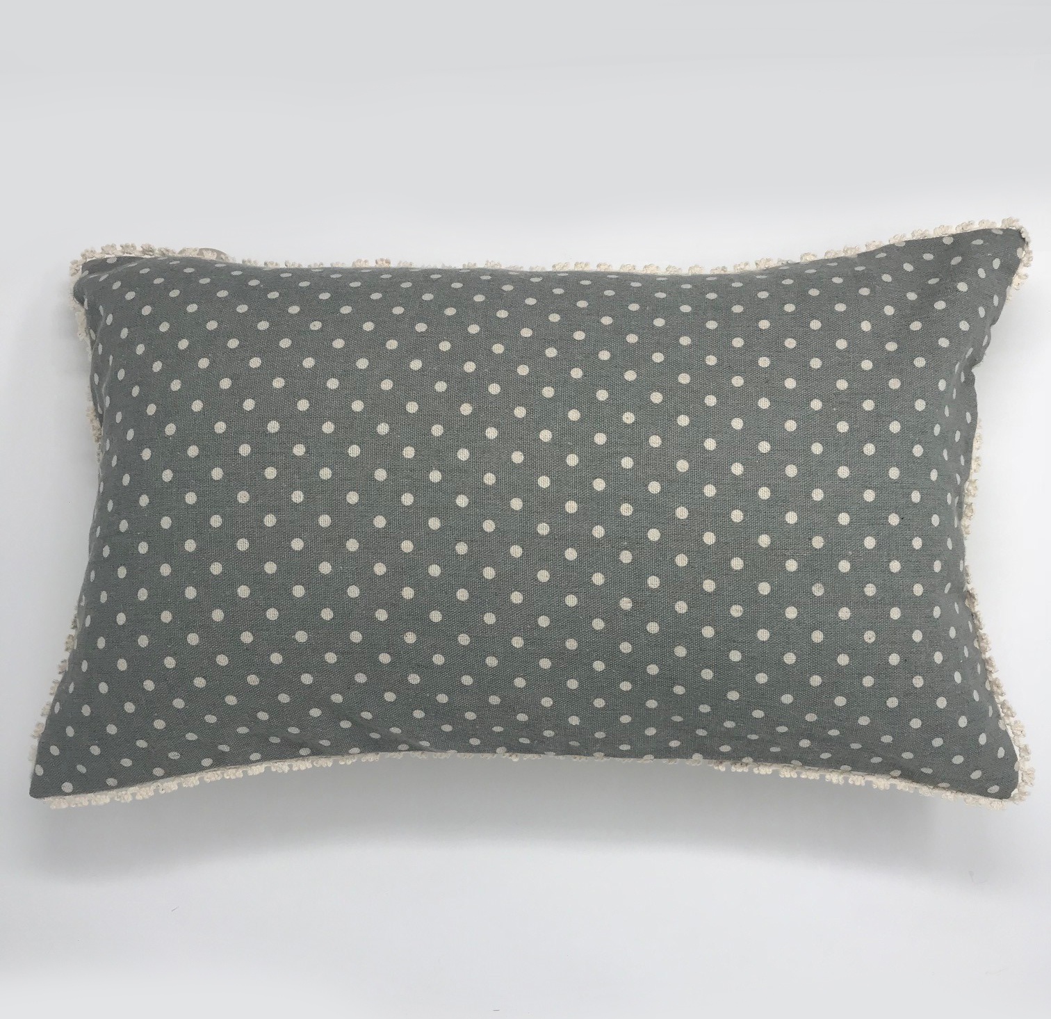 Vintage Reversable Polka Dot Cushion Cover