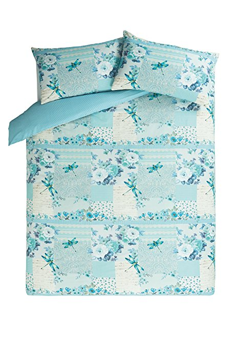 Dragonfly Patchwork Duvet Set