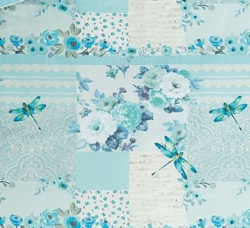 Dragonfly Patchwork Duvet Set Thumbnail 2