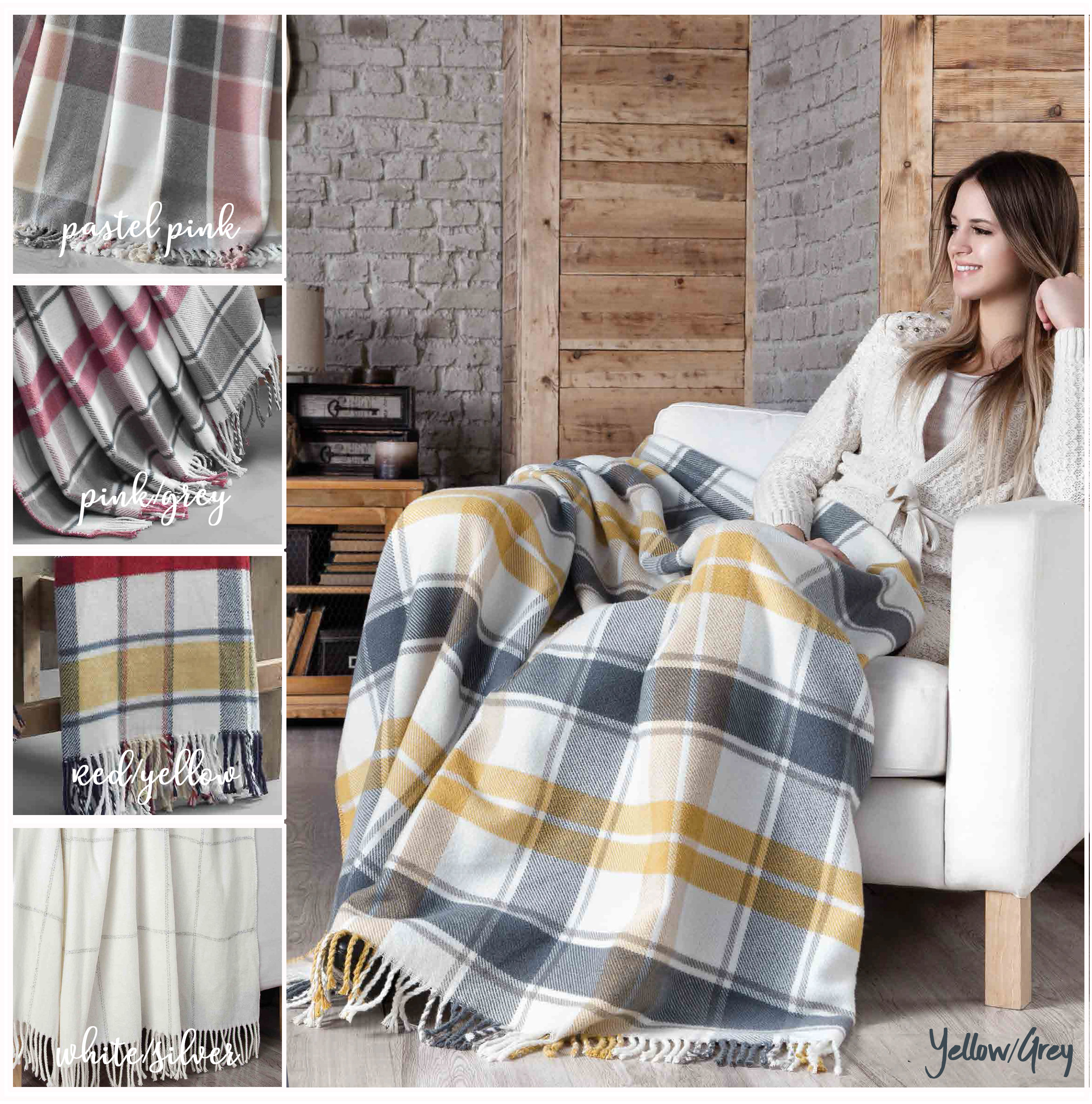 Scotch Acrylic Blankets