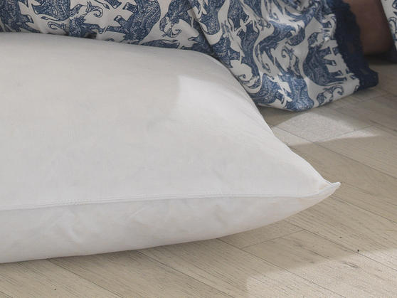 Duck Feather Piped Pillow Pair Thumbnail 2