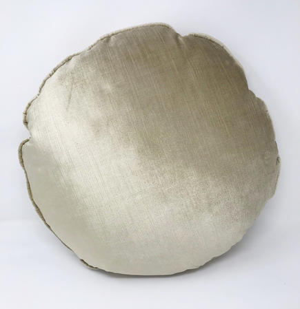 Molly Golds Round Filled Cushion Thumbnail 1