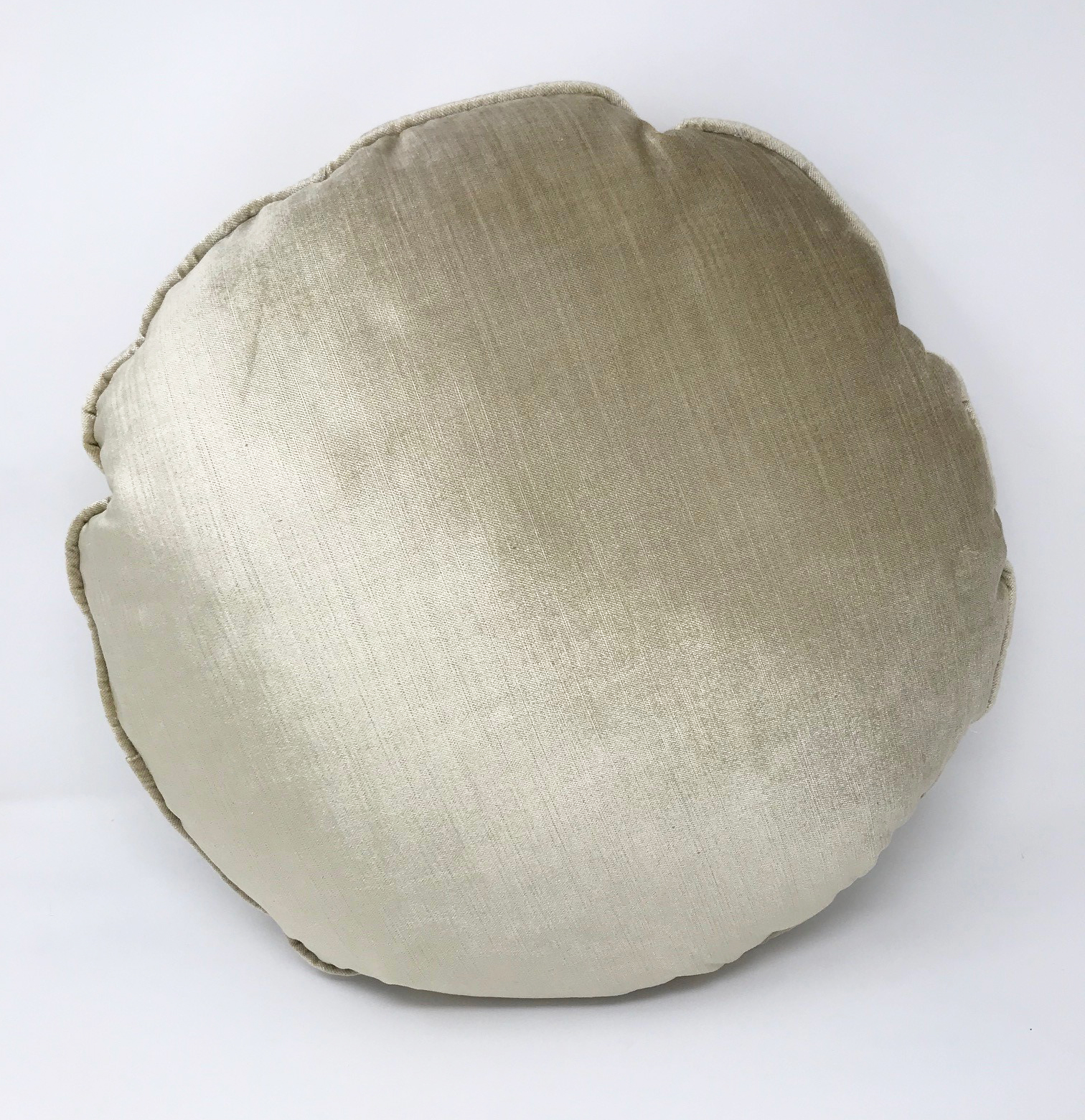 Molly Golds Round Filled Cushion