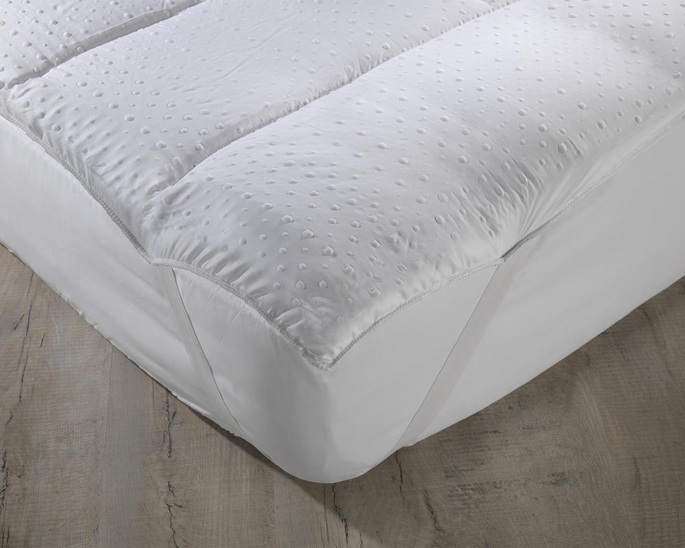 Reversible Microfibre 3D Embossed Mattress Reviver