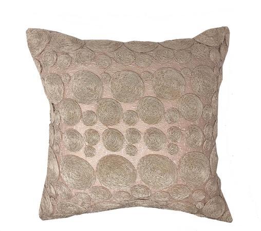 Bessie Lace Blush Rose 100% Cotton 43cm x43cm Cushion Cover Only - RRP£13.99 Thumbnail 1