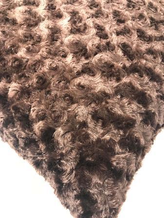 Fur Chocolate 60cm x 60cm Cushion Thumbnail 2
