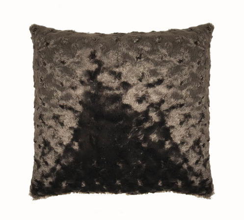 Fur Chocolate 45cm x 45cm Cushion Cover Only