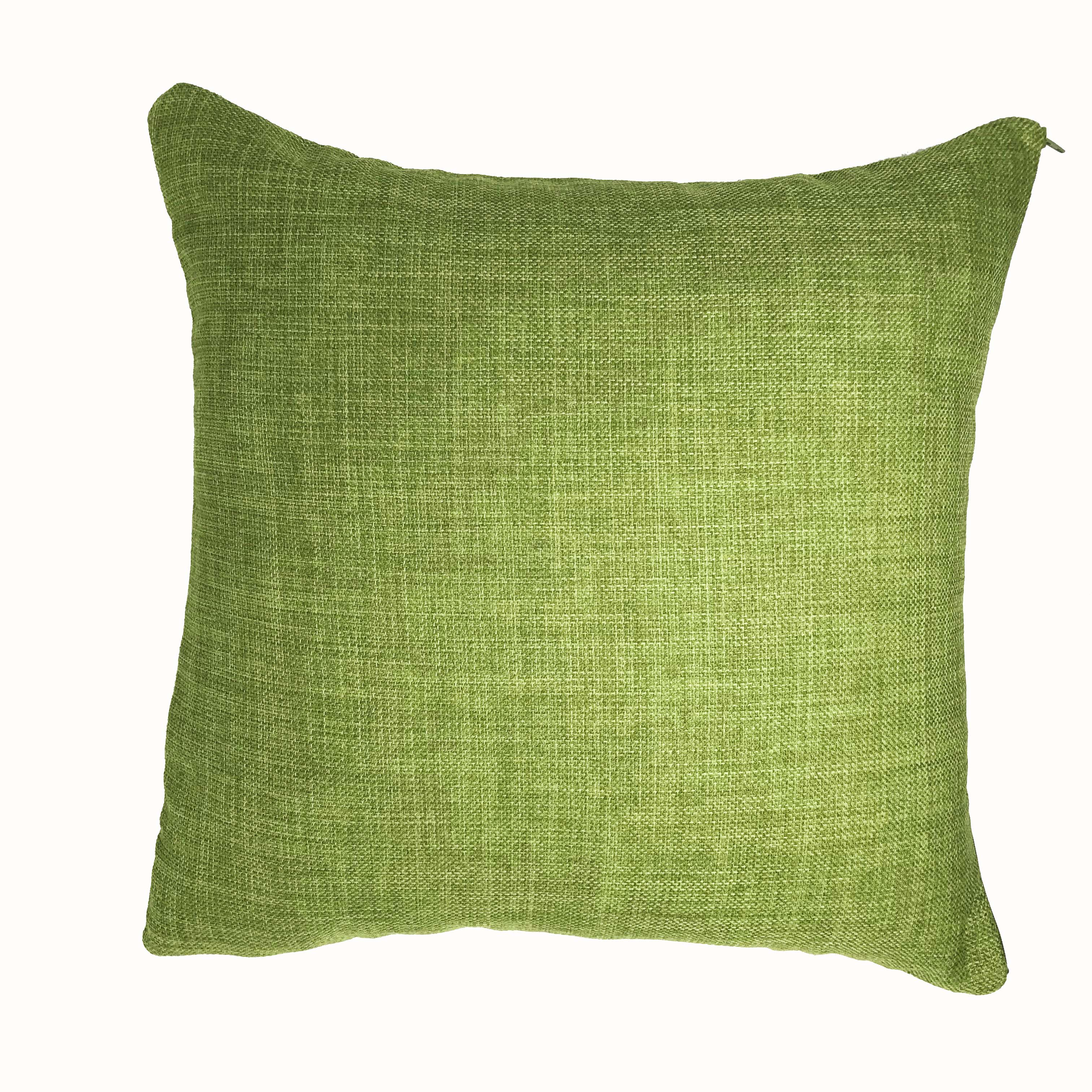 Linoso Green 45cm x 45cm Cushion Cover Only