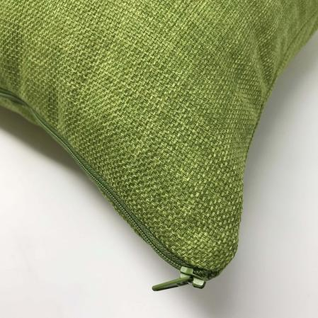 Linoso Green 45cm x 45cm Cushion Cover Only Thumbnail 2