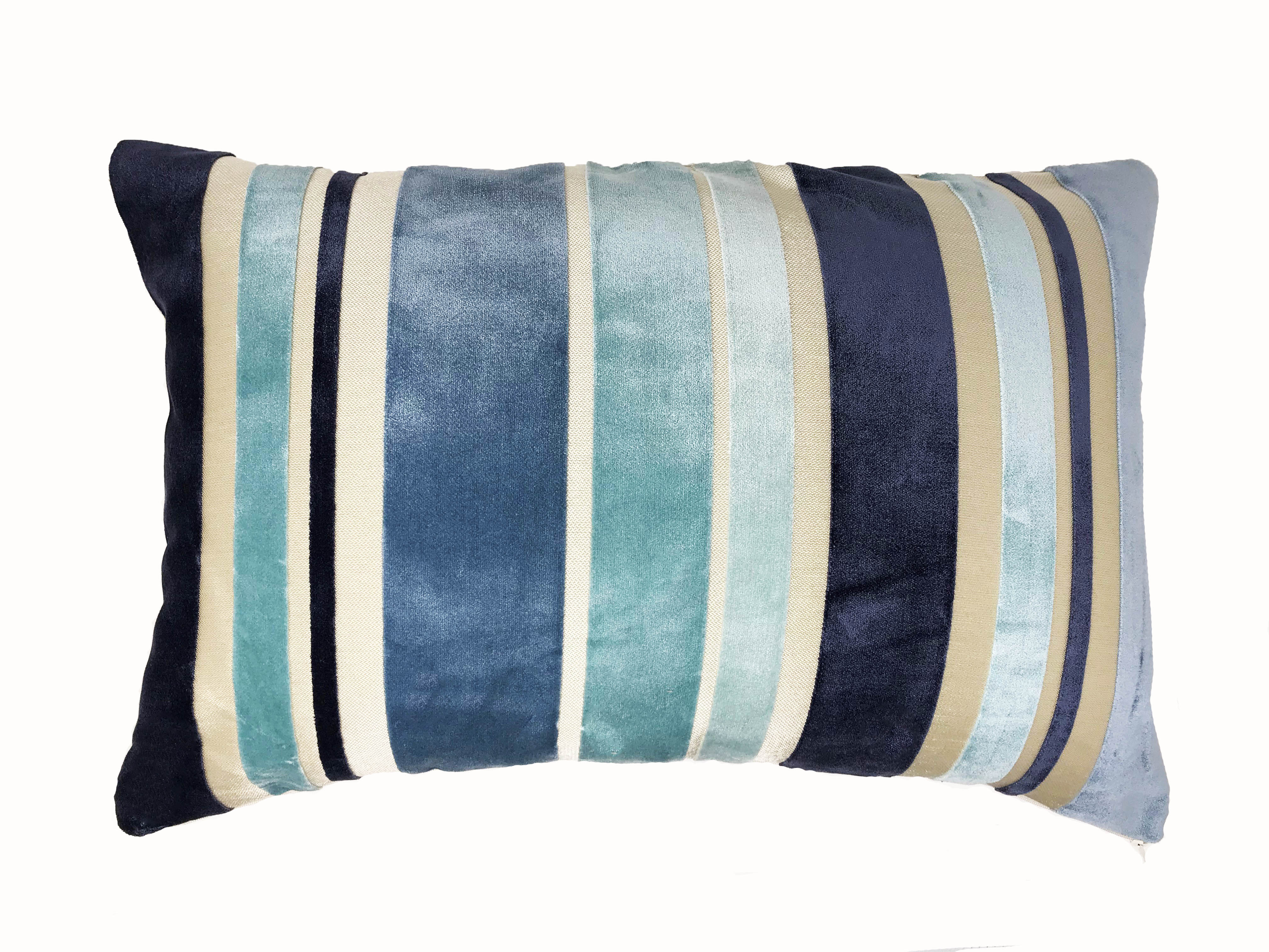 Roxburgh Blue 58cm x 38cm Cushion Cover Only
