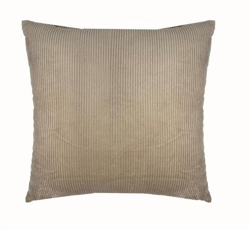 Cream Cord 45cm x 45cm Cushion Thumbnail 1