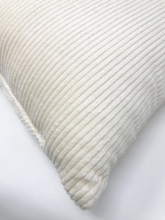 Ivory Cord 45cm x 45cm Cushion Thumbnail 2