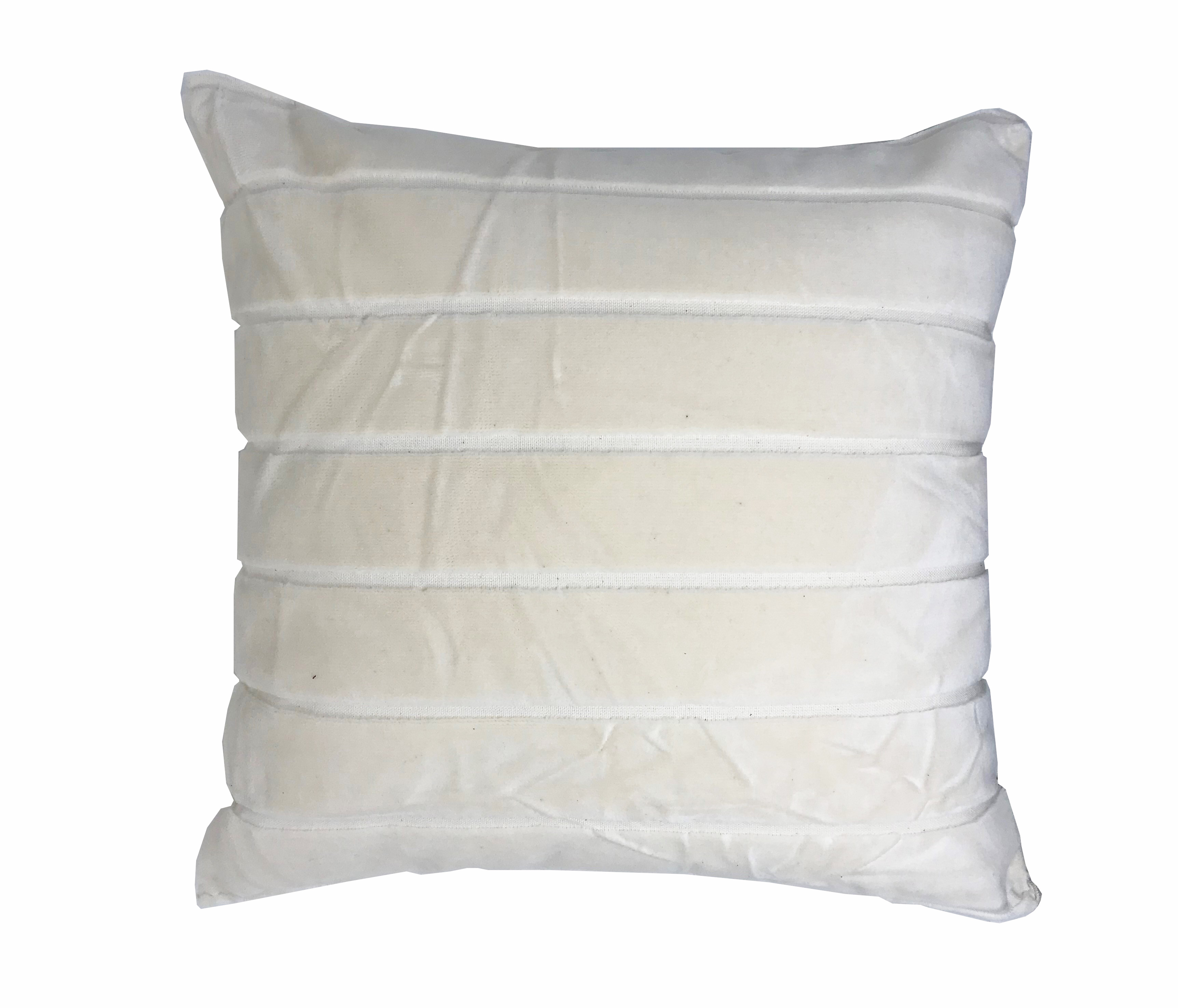 Striped Velvet 45cm x 45cm Cushion Cover Only
