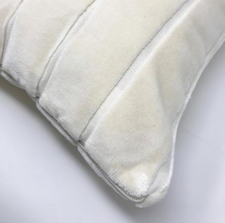 Striped Velvet 45cm x 45cm Cushion Cover Only Thumbnail 2
