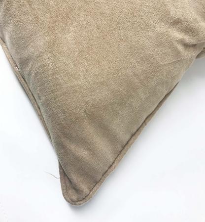 Suede Beige 55cm x 55cm Cushion Thumbnail 2