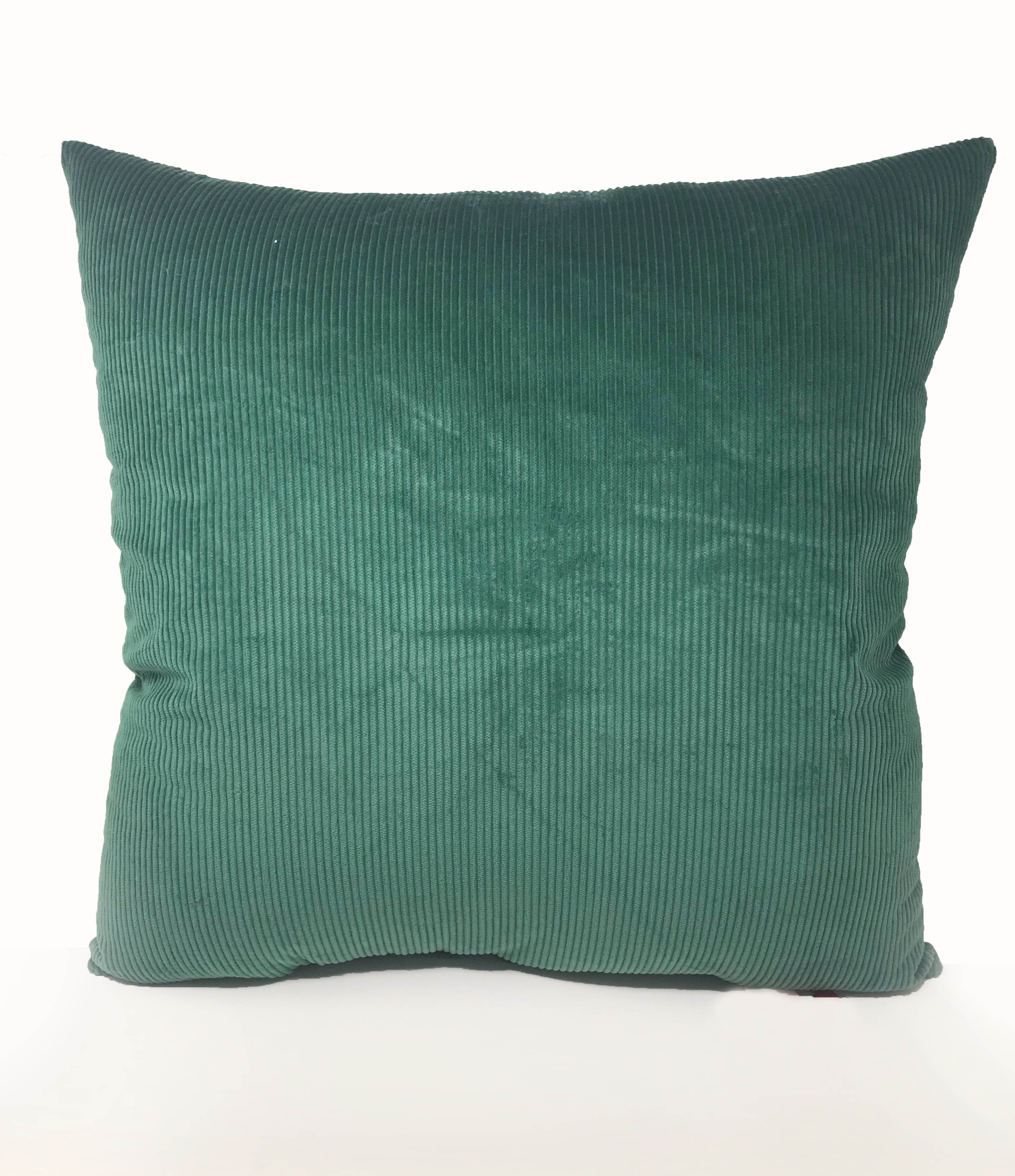 Green Cord 60cm x 60cm Cushion