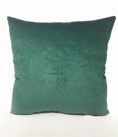 Green Cord 60cm x 60cm Cushion Thumbnail 1