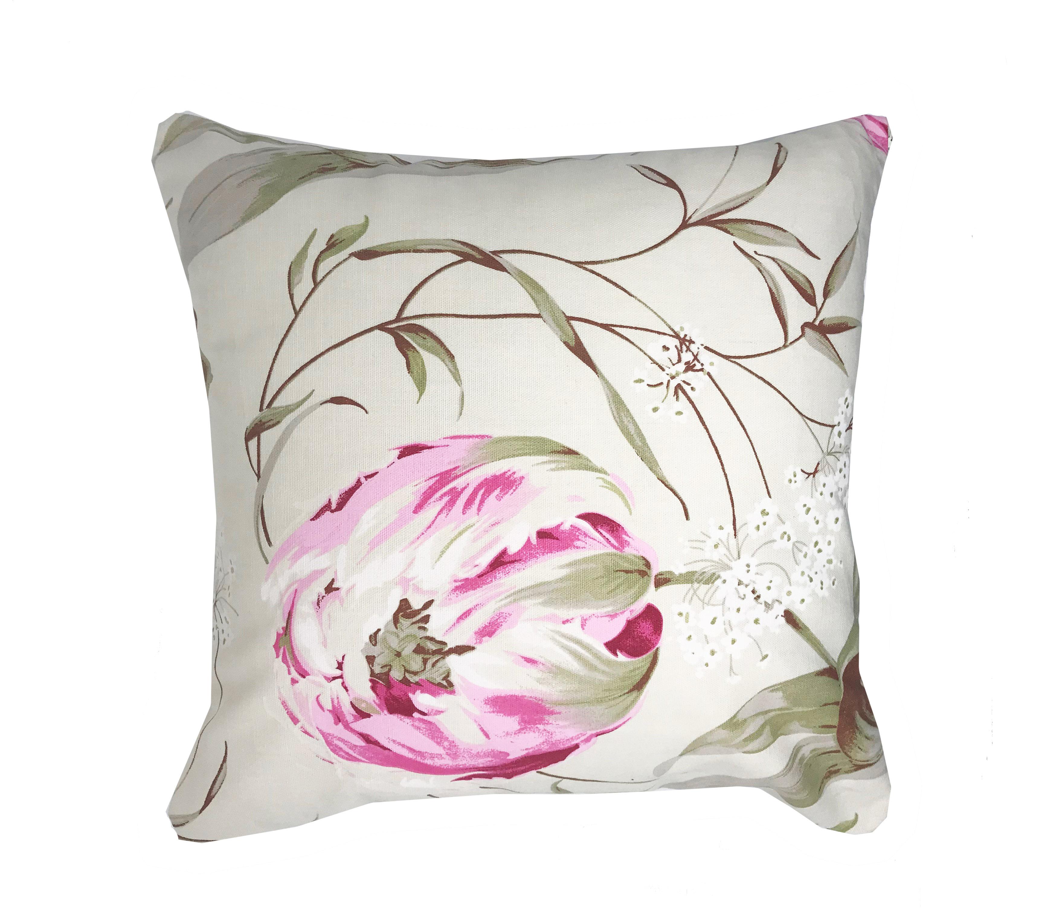 Nayade Petal Flower Petal  Rose 43cm X 43cm Cushion Cover Only