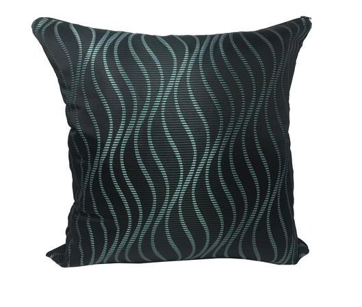Metallic Teal/Blue Bassili Kingfisher 55x55cm Cushion Cover Only Thumbnail 1