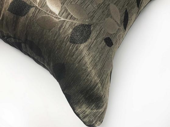 Palma Black 55cm x 55cm Cushion Cover Only Thumbnail 2
