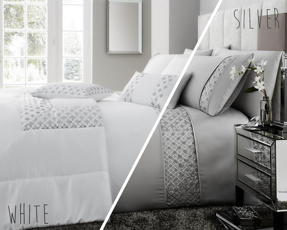 Darcy Embellished Sequin Duvet Set