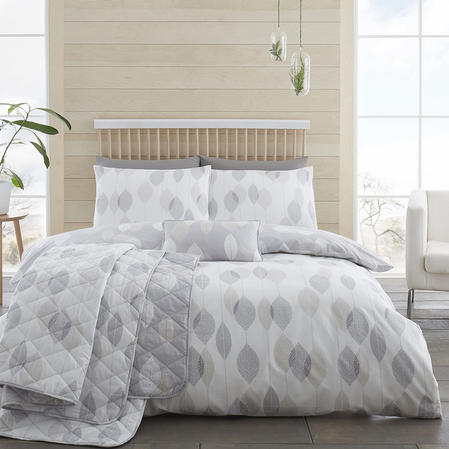 200TC Etched Leaves Duvet Sets Thumbnail 2