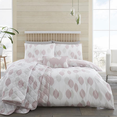 200TC Etched Leaves Duvet Sets Thumbnail 3