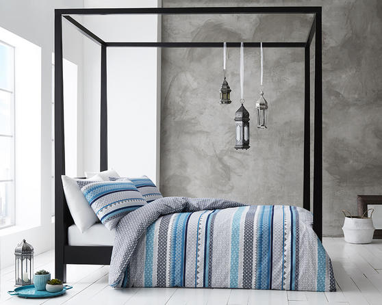 COMING SOON - Gabrielle Collection Bedding Set & Bedding Range in Neutral, Blue, Red or Grey