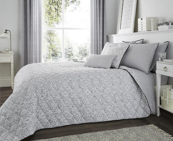 Andalusia Grey Collection Bedding Set & Bedding Range