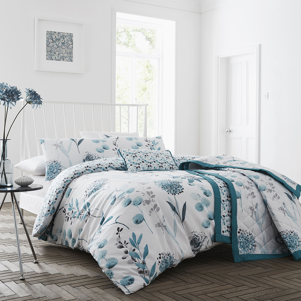 COMING SOON - 200TC Inky Floral duvet Sets
