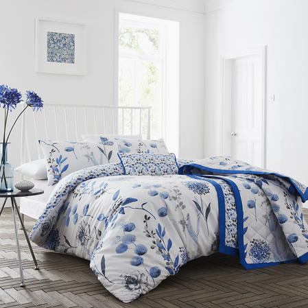 COMING SOON - 200TC Inky Floral duvet Sets Thumbnail 2