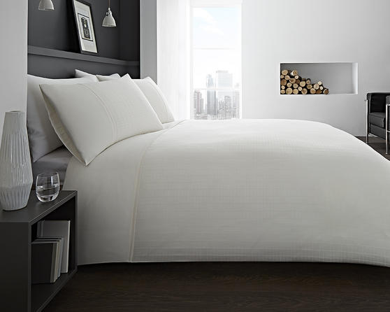 Montreal Collection Bedding Set & Bedding Range in Cream, Grey and White