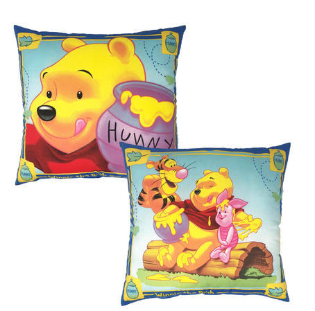Disney Winnie the Pooh Filled Cushions in Royal Blue Thumbnail 2