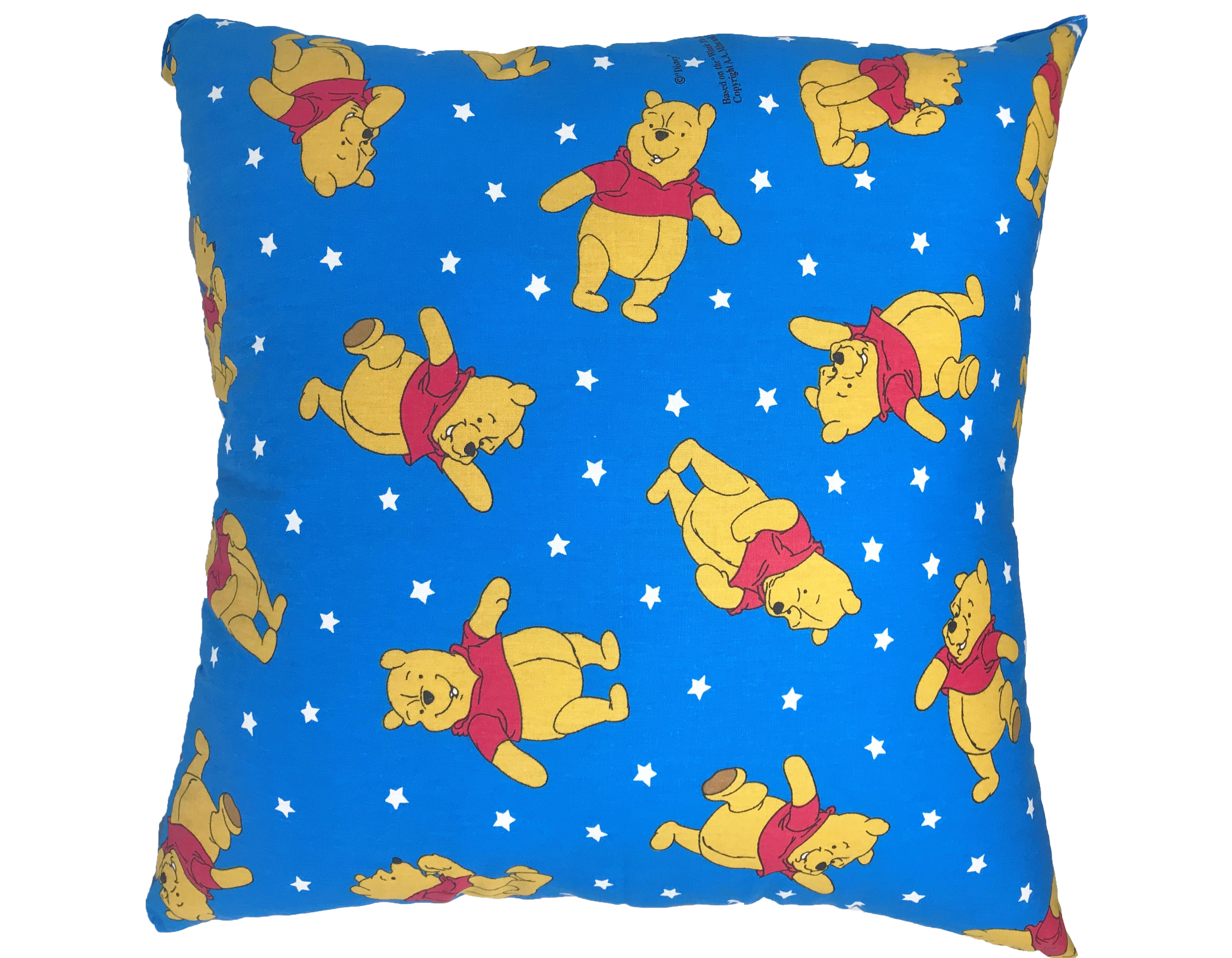 Disney Winnie the Pooh Filled Cushions in Royal Blue