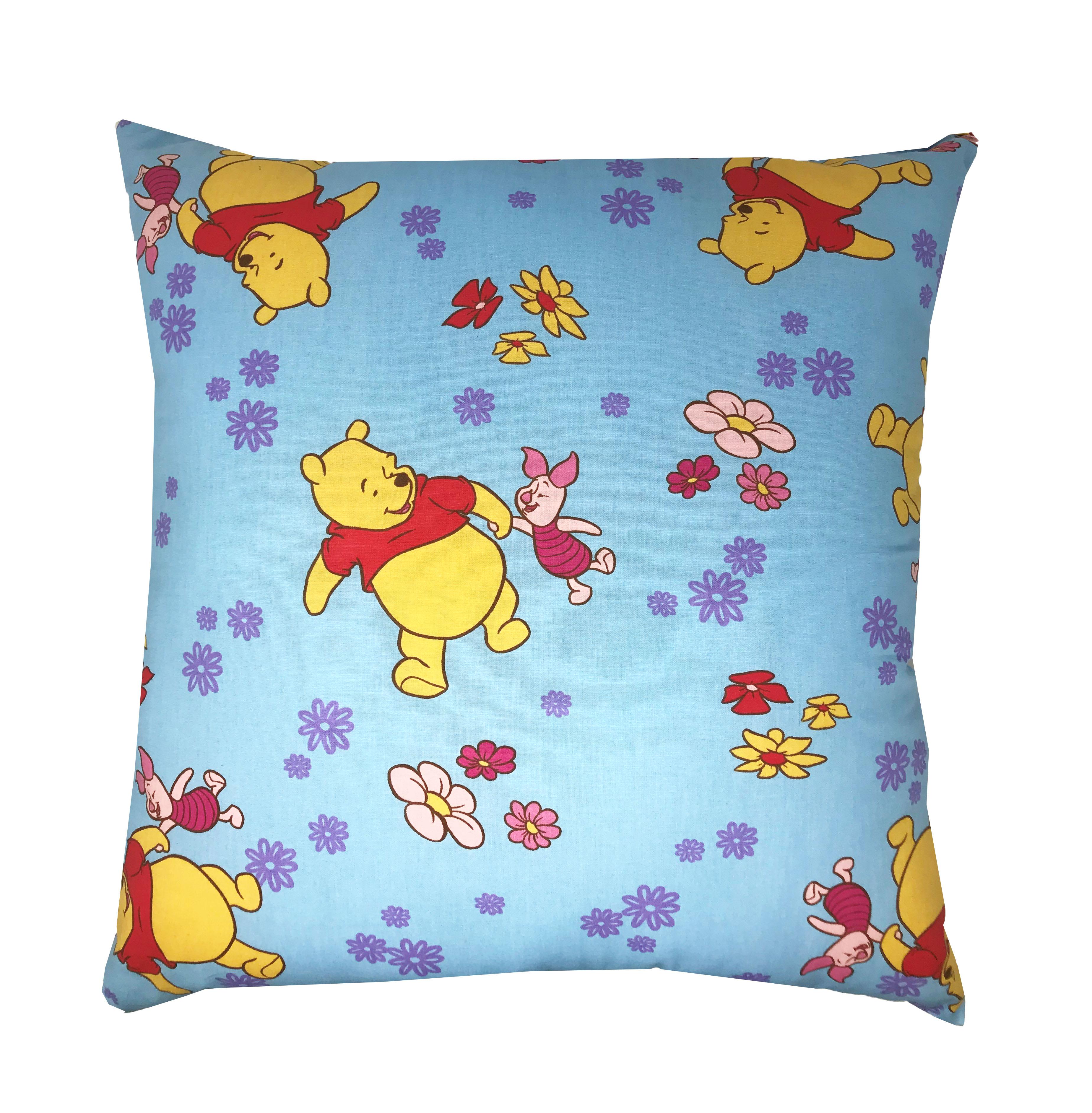 Disney Winnie the Pooh Filled Cushions in Sky Blue