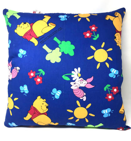 Winnie The Pooh and Piglet Blue Filled Cushion Thumbnail 1