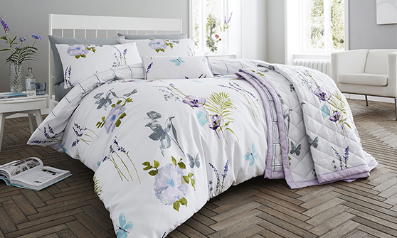 200TC Flora Duvet Sets
