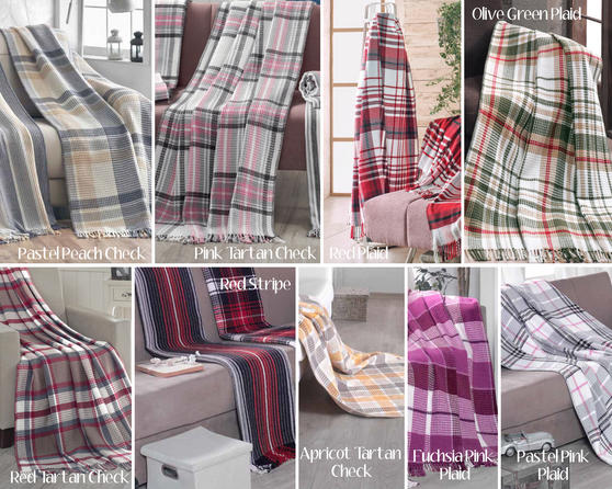 COMING SOON AU18 - Cotton Rich Scotch Blanket