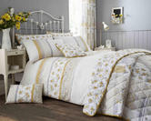 Garden Duvet Set with Pillowcase(s) in Lemon