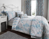 Sophia Duvet Set with Pillowcase(s) Duck Egg Blue