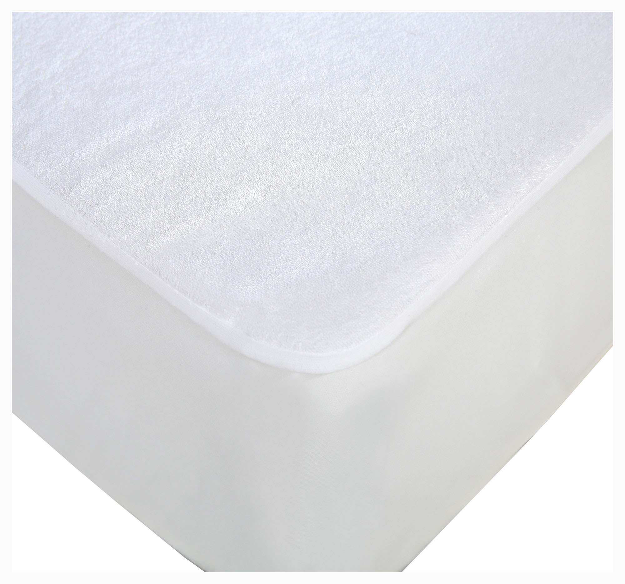 100/% Cotton Pile  Waterproof terry Towling Mattress Protector All sizes