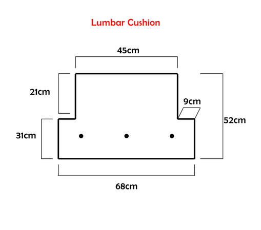 Crushed Velvet Lumbar Cushion Thumbnail 2